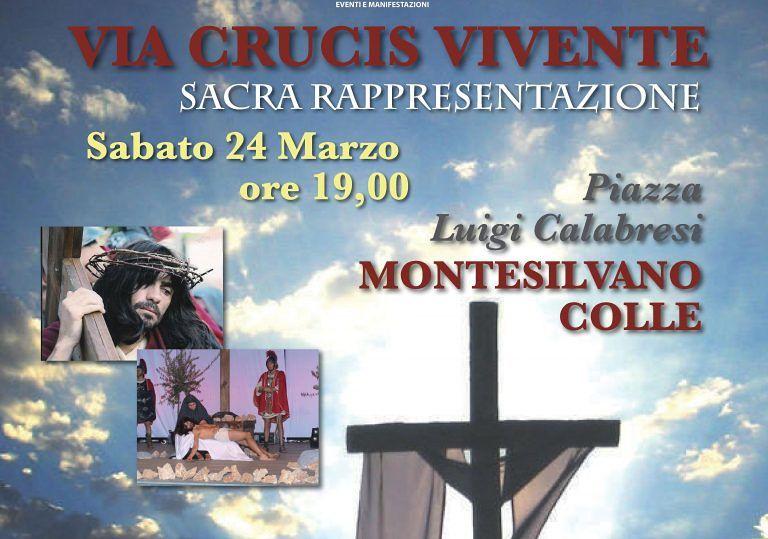 A Montesilvano Colle torna la 'Via Crucis'