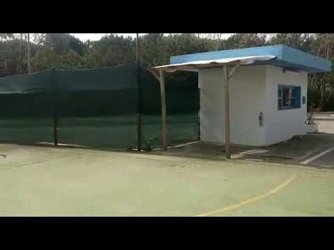 Tortoreto, ripulita l'area camper che sarà attrezzata per l'estate VIDEO