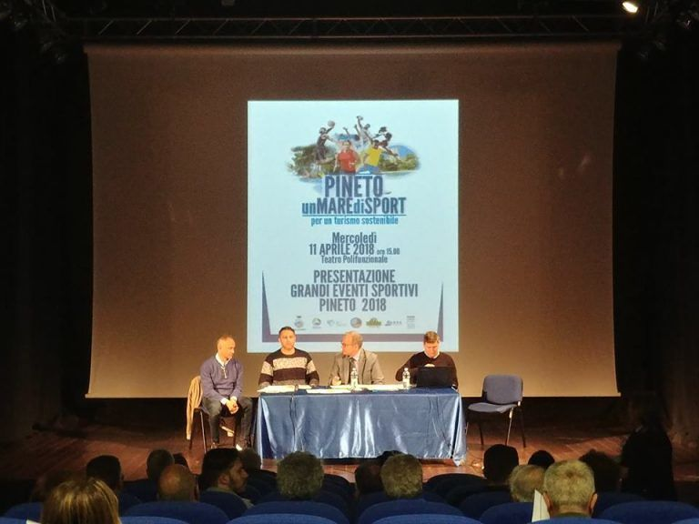 Pineto, presentati i grandi eventi sportivi primavera/estate 2018