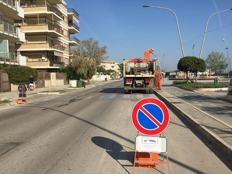 Pescara, riviera sud e nord: i lavori sono partiti spediti