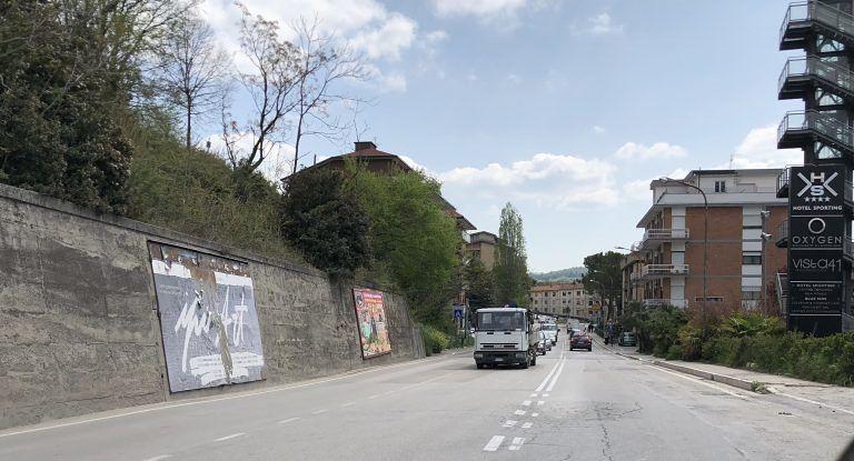 Teramo, studente investito in via De Gasperi: è grave