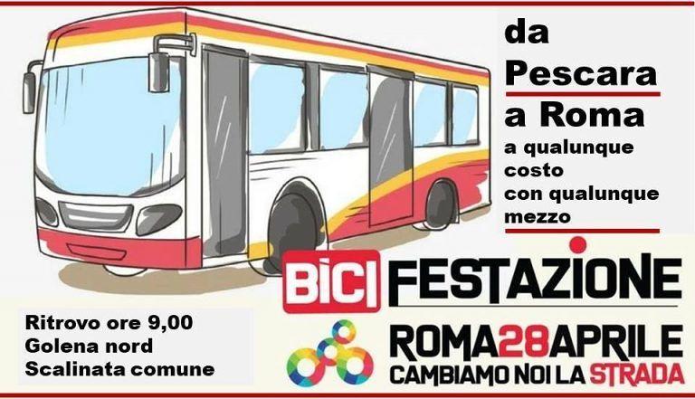 Pescara, parte la carovana per la Bicifestazione a Roma