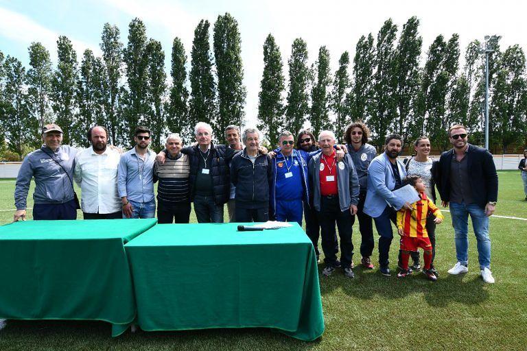 Giulianova, premiazione Memorial Della Penna con i Del Grosso e Tarquini ricordando Cerasari