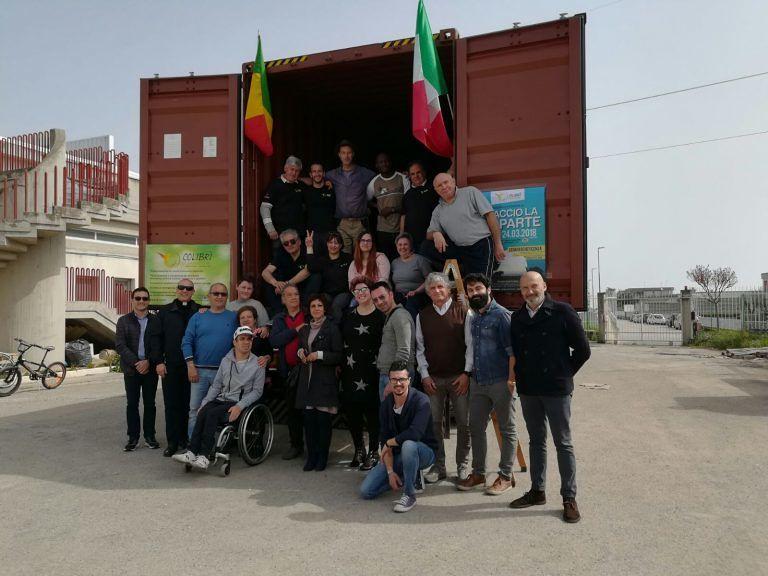 Giulianova, il quarto container del Colibrì pronto a partire per il Senegal