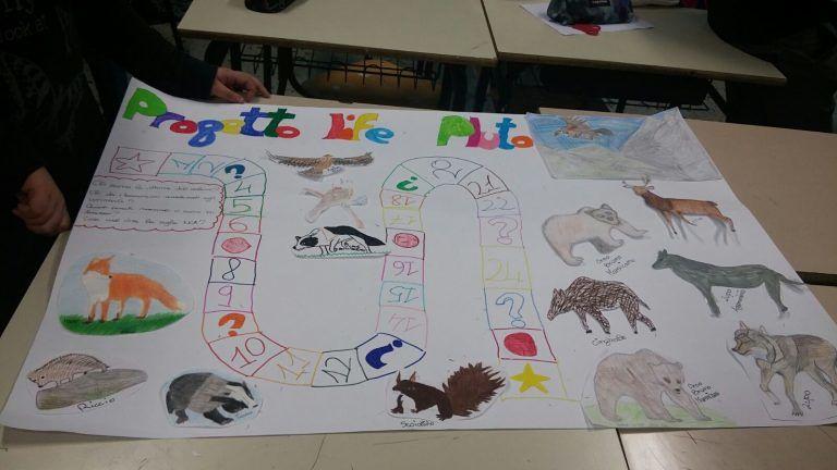 Studenti abruzzesi impegnati nel progetto del Parco per la tutela degli animali