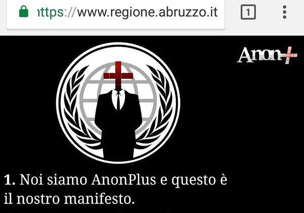 Hackerato il sito della Regione Abruzzo