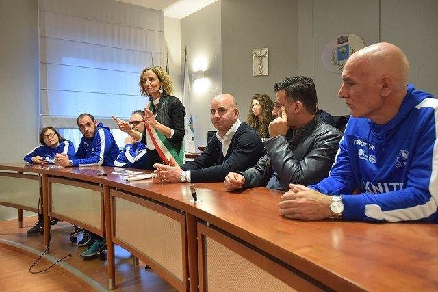 La Bts Volley San Salvo riceve i complimenti dell'amministrazione comunale