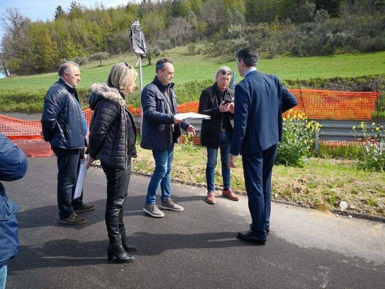 Civitella del Tronto, il sindaco incontra l'Anas: sarà previsto il doppio senso verso Villa Passo