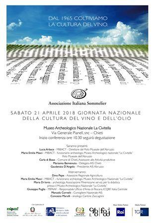 Chieti, al Museo La Civitella la Giornata Nazionale della cultura del vino e dell'olio
