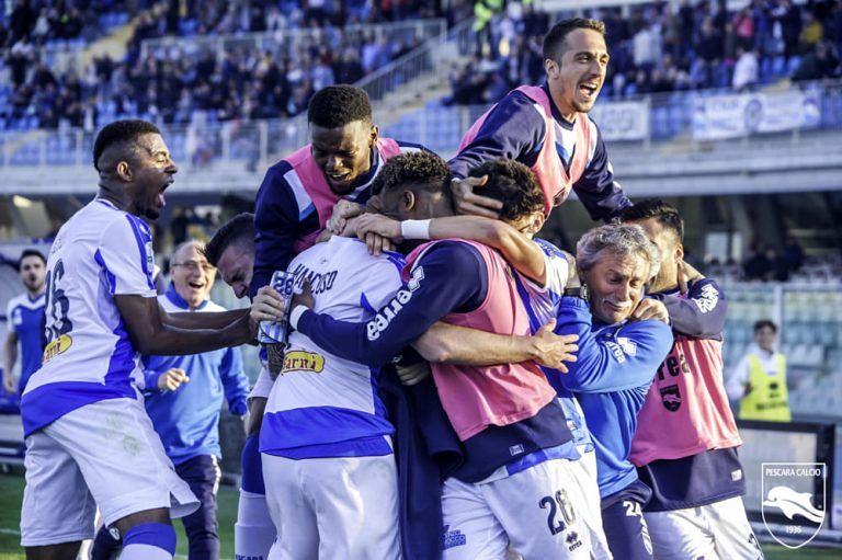 Finalmente Pescara: partita perfetta a Terni