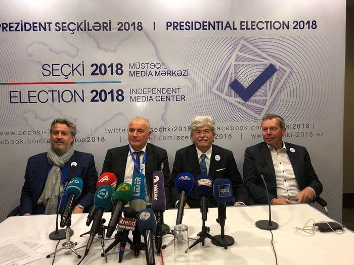 Razzi osservatore alle elezioni in Azerbaigian