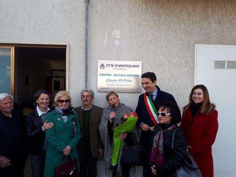 Montesilvano, inaugurato il nuovo centro anziani dedicato a Gravino Di Pietro