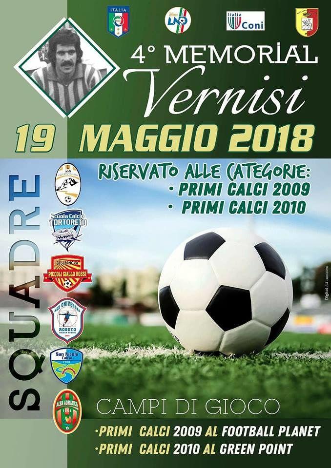Giulianova, torneo giovanile per ricordare Roberto Vernisi