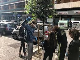 I 'volontari per Pescara Pulita' tornano su via Roma con i ragazzi della media Tinozzi