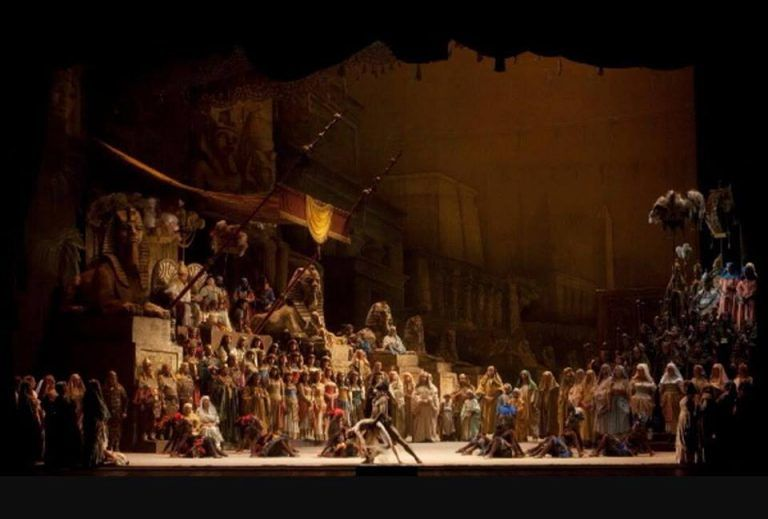 Atri, Riccardo Della Sciucca ne l'Aida di Zeffirelli al Teatro alla Scala
