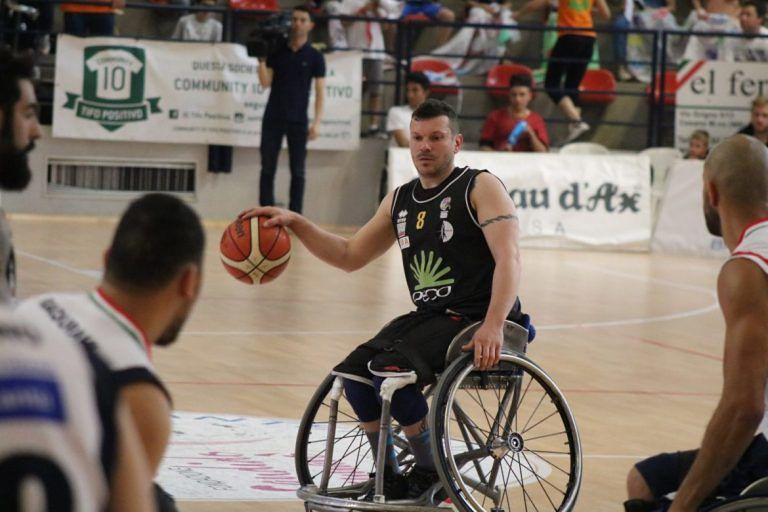 Basket in Carrozzina, l'Amicacci Giulianova sfiora l'impresa in Gara 1