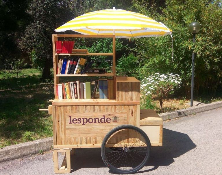 Pescara, arriva il Booksharing ambulante