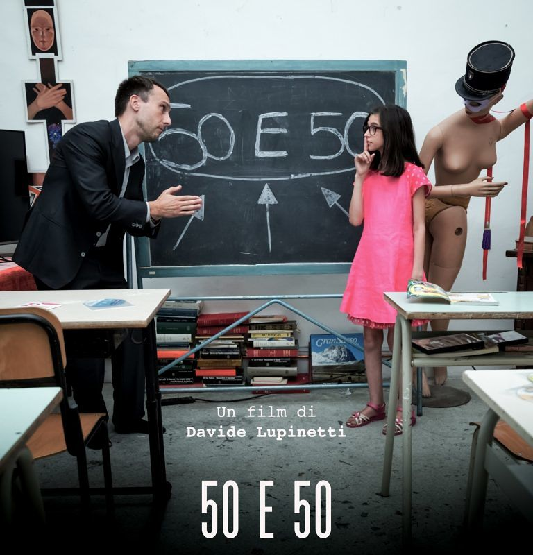 """Cinema: riconoscimenti e premi per il corto """"50 e 50"""" del giovane regista Davide Lupinetti"""