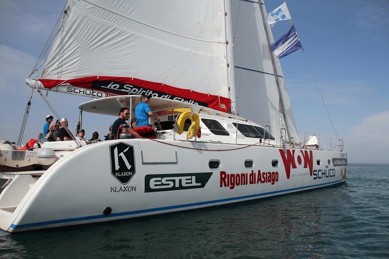 Montesilvano, un giorno sul catamarano accessibile ai disabili