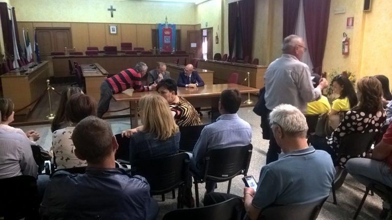 Il Sindaco Di Lorito incontra i dipendenti della Spoltore Servizi: nuovi incarichi all'azienda