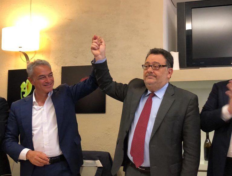 """Elezioni Teramo, Morra: """"Prometto dedizione. Municipio come palazzo di vetro"""" FOTO VIDEO"""