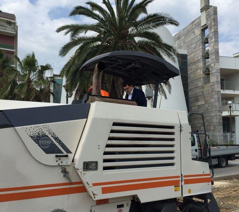 Pescara, lavori riviera nord: ancora chiusure per ottimizzare i tempi FOTO