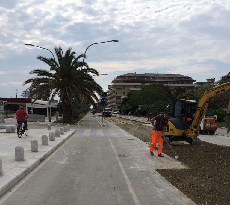 Pescara, riviera nord: lunedì gli asfalti