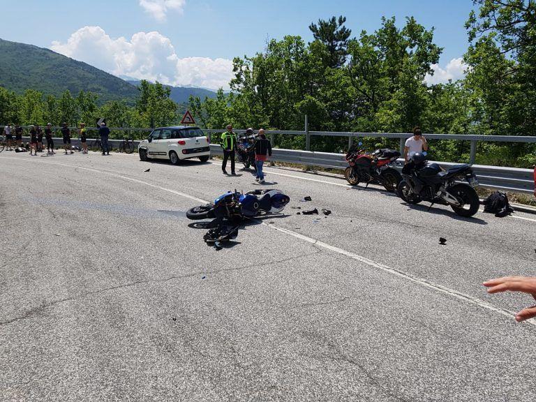 Incidente in moto, muore aquilano sulle Capannelle FOTO