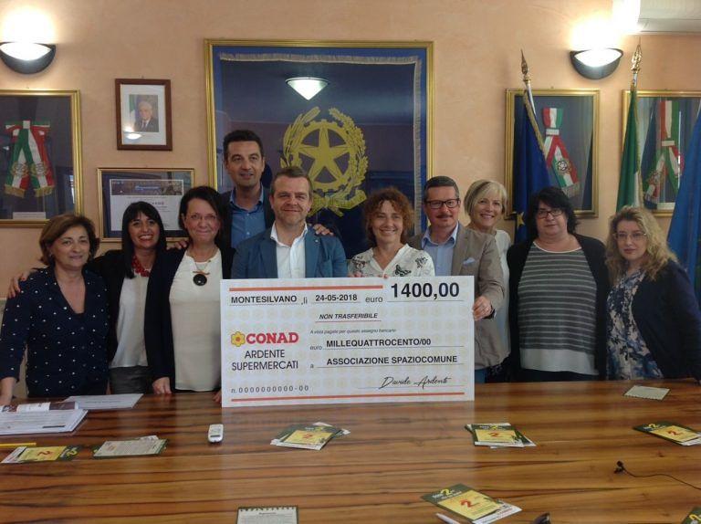 Montesilvano, raccolti 1400 euro per la scuola Troiano Delfico