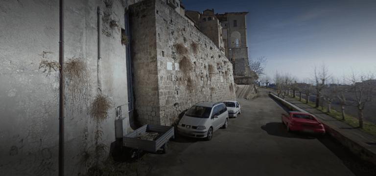 Civitella del Tronto, furto nel convento dei frati: le telecamere incastrano il ladro
