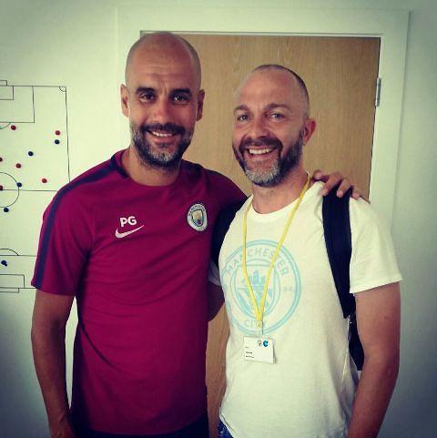 Mister Farias studia da Pep Guardiola al Manchester City