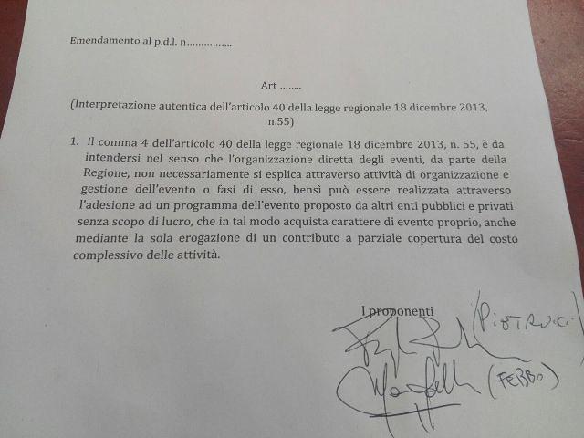 Chieti, Teatro Marrucino. Febbo: 'Presentato uno specifico emendamento per sbloccare le risorse stanziate'