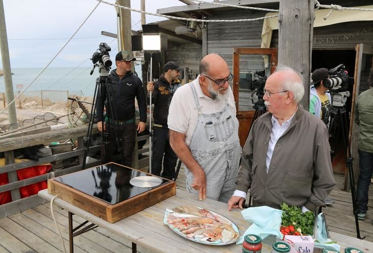 Giorgione orto & cucina: trasmissioni a Notaresco, Farindola e Vasto