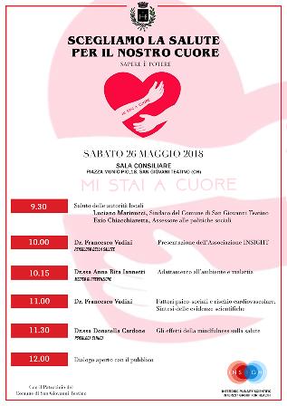 'Scegliamo la salute per il nostro cuore', convegno a San Giovanni Teatino