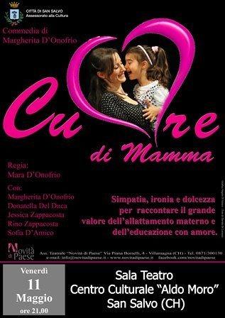 San Salvo, allattamento e amore materno nello spettacolo teatrale 'Cuore di Mamma'