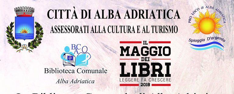 """Alba Adriatica, """"il maggio dei libri"""": incontro in biblioteca con Enrico Di Carlo"""