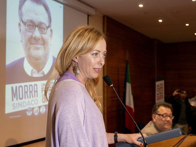 Teramo, Giorgia Meloni farà tappa a Colleatterrato