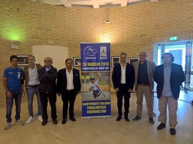 Francavilla al Mare tricolore con i campionati italiani di paraciclismo a cronometro