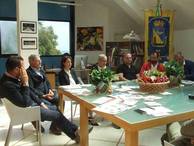 Presentata la quinta edizione di 'Francavilla fiori e fragole' VIDEO