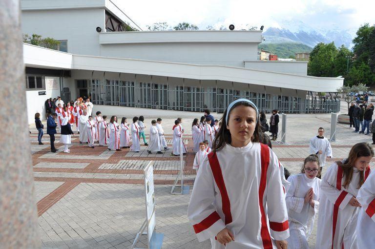 Santuario di San Gabriele: giornata del ministrante e raduno dei fuoristrada