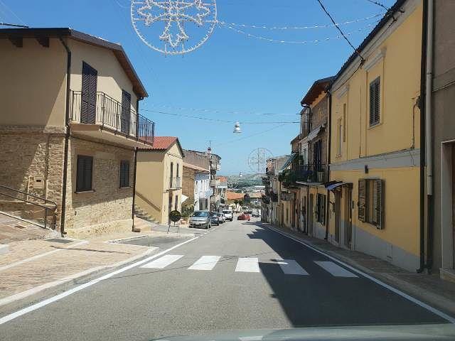 San Salvo, sistemazione segnaletica stradale orizzontale