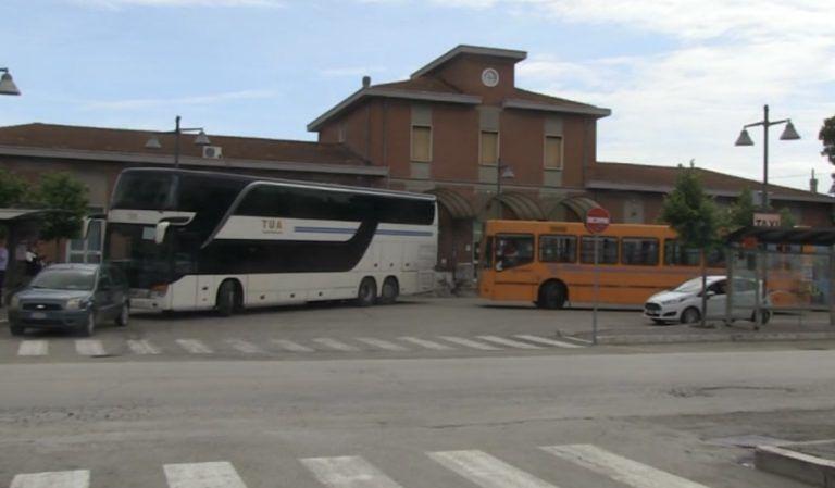 Linea TUA Giulianova-Roma rischia di essere cancellata: l'allarme dei sindacati