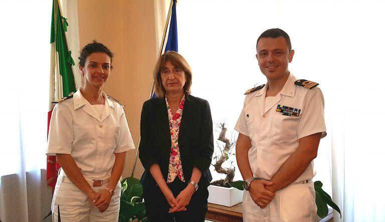 Teramo, in Prefettura il nuovo comandante della Guardia Costiera di Giulianova