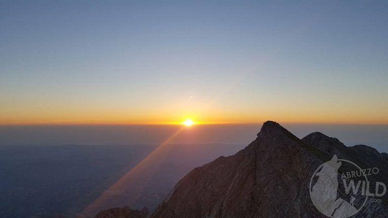 L'alba sul mare vista da Tremoggia | Abruzzo Wild, 29 Giugno