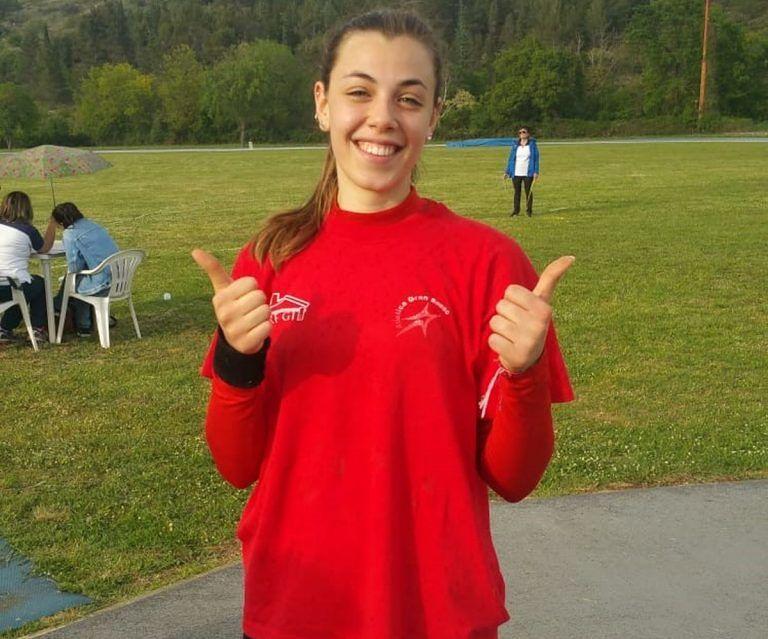 Atletica Gran Sasso, Ludovica Montanaro convocata per gli Europei Under18