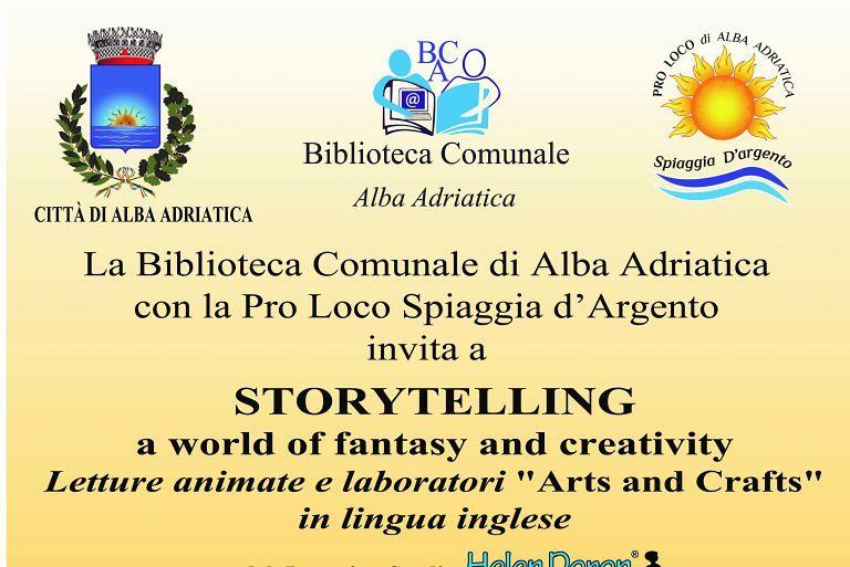 Alba Adriatica, letture animate in inglese in biblioteca