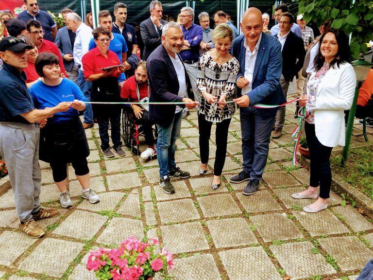 Atri, inaugurati 'I giardini della memoria' nella casa di riposo