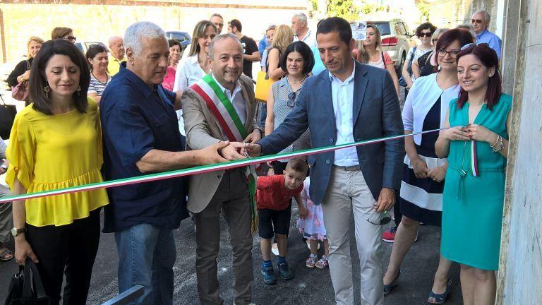 Spoltore, inaugurato il centro sociale Giovina Di Girolamo