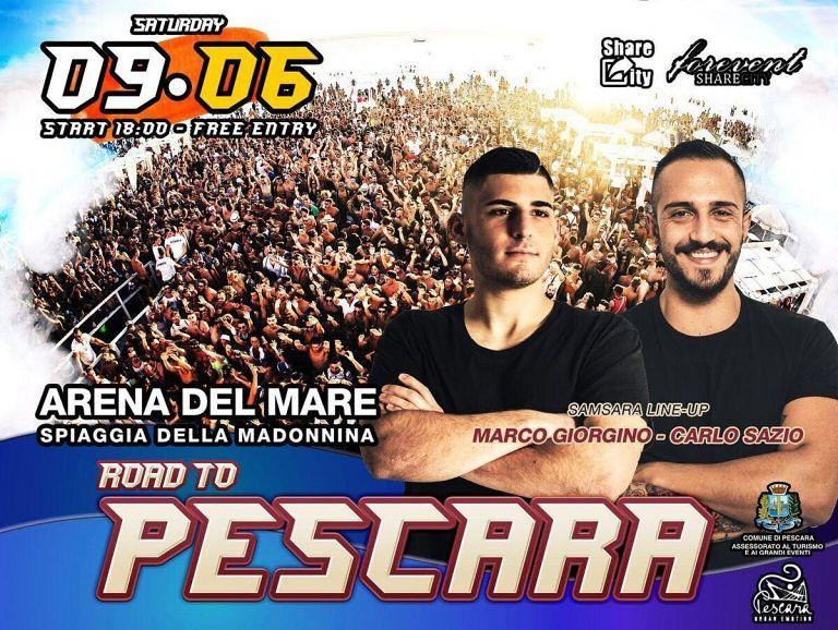 Pescara, torna la festa sul mare con 'Samsara'