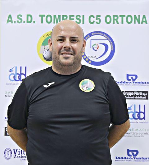 Tombesi, nuova conferma nello staff tecnico: Andrea Di Buono